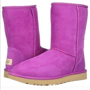 UGG Classic II Short boot in Magenta Rose SZ 7